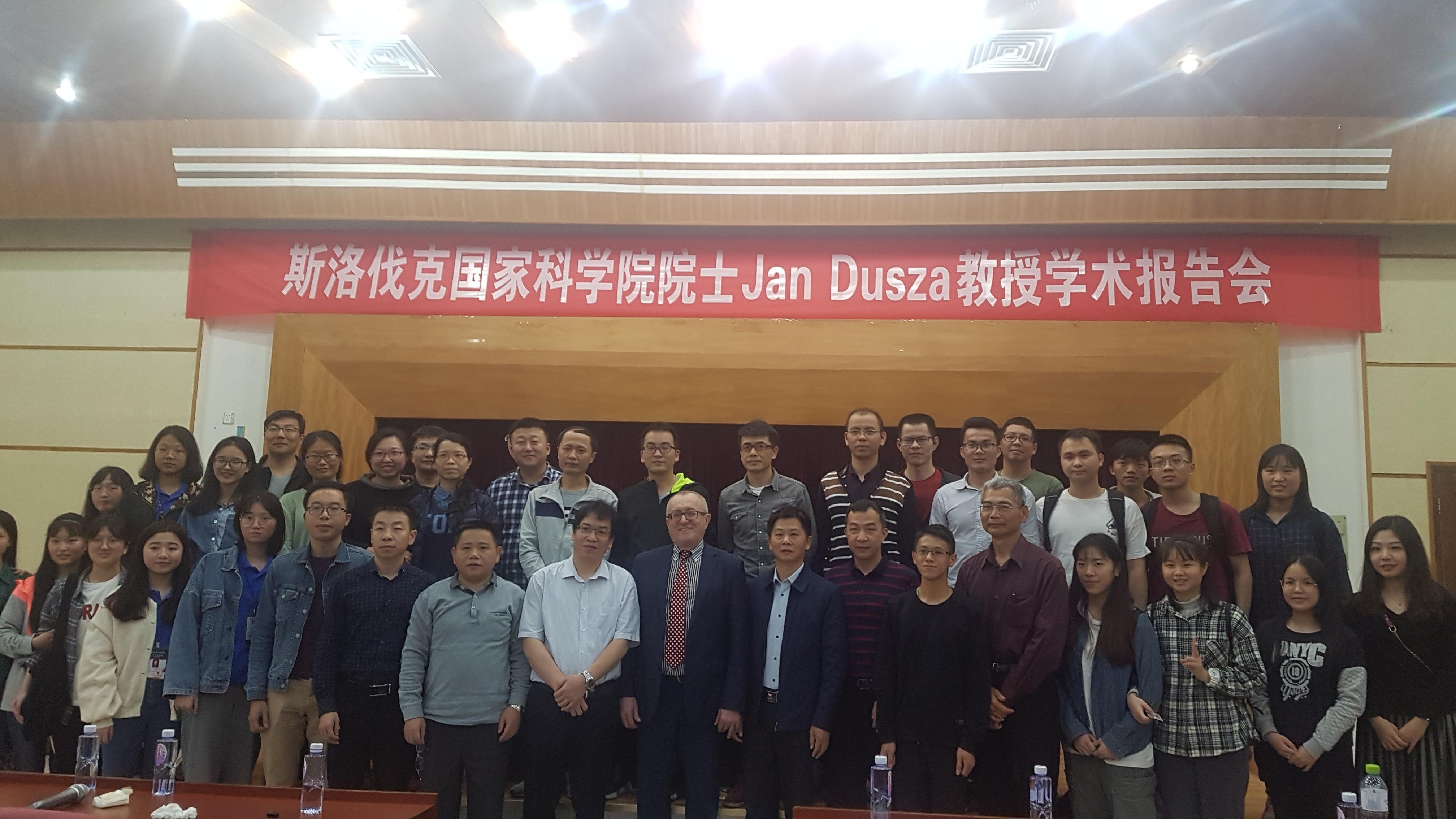 Prof. Ján Dusza propagoval PROMATECH v Číne